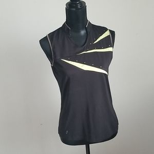 TAIL black golf top size s